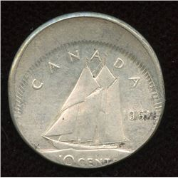 1961 Ten Cents Off-Struck