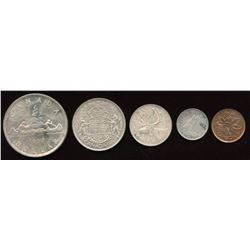1952 Souvenir Coin Set