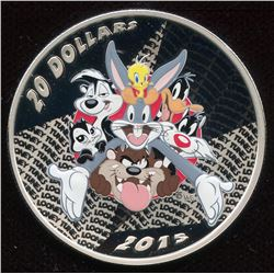 2015 Looney Tunes: Merrie Melodies $20 Fine Silver Coin