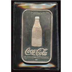 1976 Coca-Cola 75th Anniversary 1 oz. Silver Bar