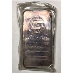 Vintage Engelhard 10 oz. Limited Edition 999+ Fine Silver Bar