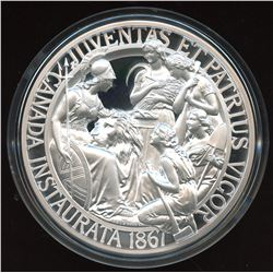1867 Confederation Medal Re-strike - 10 oz. Pure Silver
