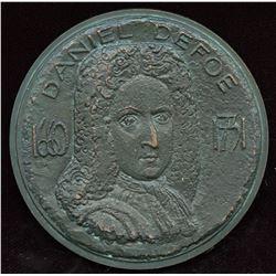 Daniel Defoe Commemorative Medal