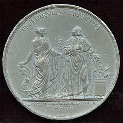 Louis XVIII Medallion France, 1817