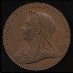 Queen Victoria Diamond Jubilee Bronze Medal, 1897