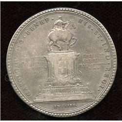 Mexico CARLOS IV, Silver Medal, 1796