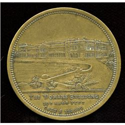 1893 Chicago World's Fair Exhibition Medal