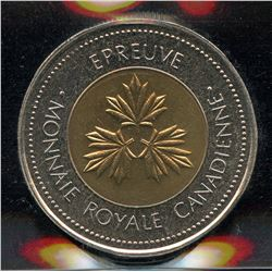 Royal Canadian Mint $2 Test Token