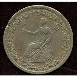 BR 994 Spread Eagle Half Penny Token, 1814