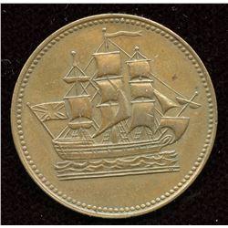 BR 997 Ships Colonies & Commerce Token