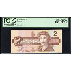 Bank of Canada $2, 1986 - Replacement Note