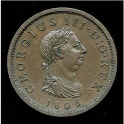 Great Britain: George III Penny, 1806