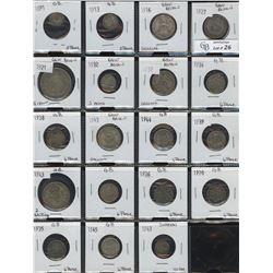 World Coin Lot of 110 Coins