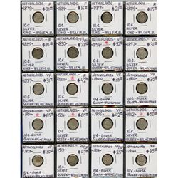 Large Coin Collection of Netherlands
