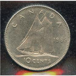 1969 Ten Cents