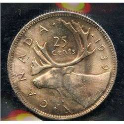 1939 Twenty-Five Cents