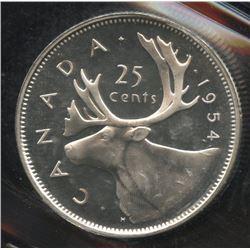 1954 Twenty-Five Cents