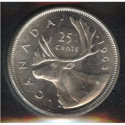 1963 Twenty-Five Cents