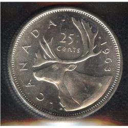 1963 Twenty-Five Cents