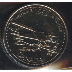 1999 Twenty-Five Cents November Mule