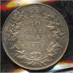 1932 Fifty Cents - Specimen