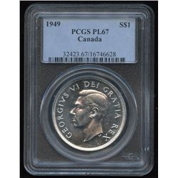 1949 Silver Dollar - Proof Like