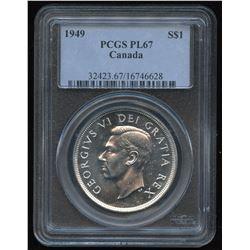 1949 Silver Dollar - Proof Like