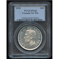 1952 Silver Dollar - Proof Like, No WL