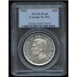 1952 Silver Dollar - Proof Like, No WL