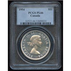 1954 Silver Dollar - Proof Like