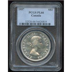 1957 Silver Dollar - Proof Like