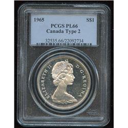 1965 Silver Dollar - Proof Like