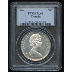1967 Silver Dollar - Proof Like