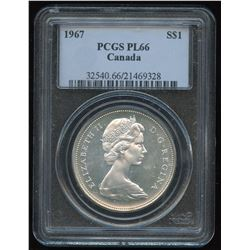 1967 Silver Dollar - Proof Like