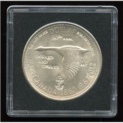 1967 Silver Dollar with Counterstrikes