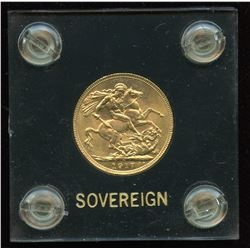 1917 Canadian Gold Sovereign