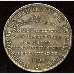 City Council of Cuba to Commanding General Don Carlos de Vargas Manchua