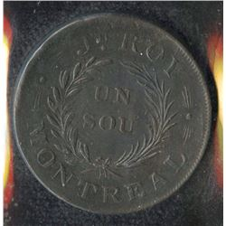 Br. 671. Joseph Roy ½ penny.