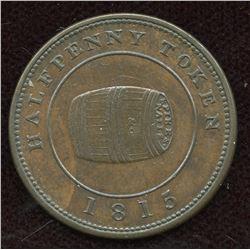 Br. 890, Miles W. White Half Penny