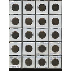 Group lot of 37 Ships. Colonies & Commerce tokens.