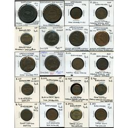 Conder Tokens - Lot of 47