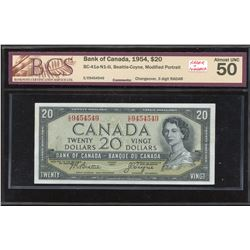 Bank of Canada $20, 1954 - 3 Digit Radar