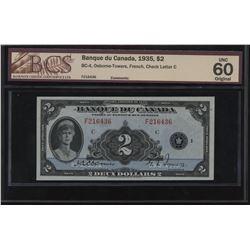 Banque du Canada $2, 1935