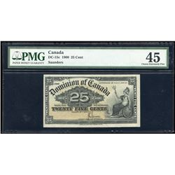 Dominion of Canada Twenty Five Cents, 1900
