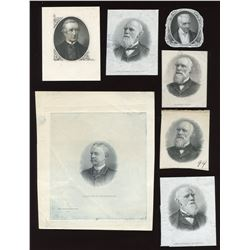Seven Engraved Portraits
