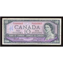 Bank of Canada $10 1954 modified
