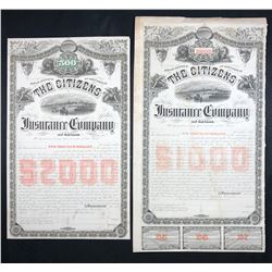 Citizens Insurance Company of Canada, $2,000 Bond