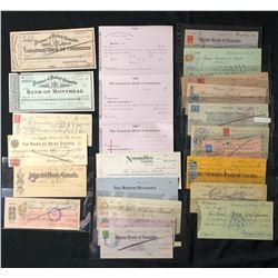 Treasure Trove of Cheques.