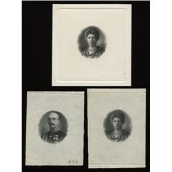 Dominion of Canada $1 1911 vignettes, Lord and Lady Grey