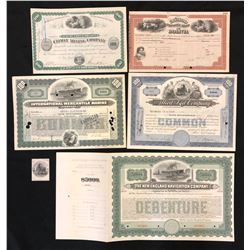 Share Certificate, Allied Kid Company